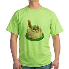 Squirrel on Cake T-Shirt