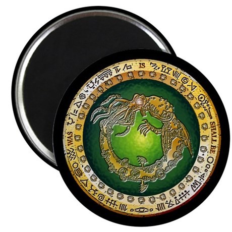 "Black Seal 2.25"" Magnet (10 pack)"