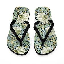 William Morris Pimpernel Design Flip Flops