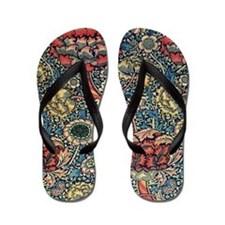 Wandle Design by William Morris Flip Flops