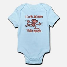 I love Aileen Infant Bodysuit