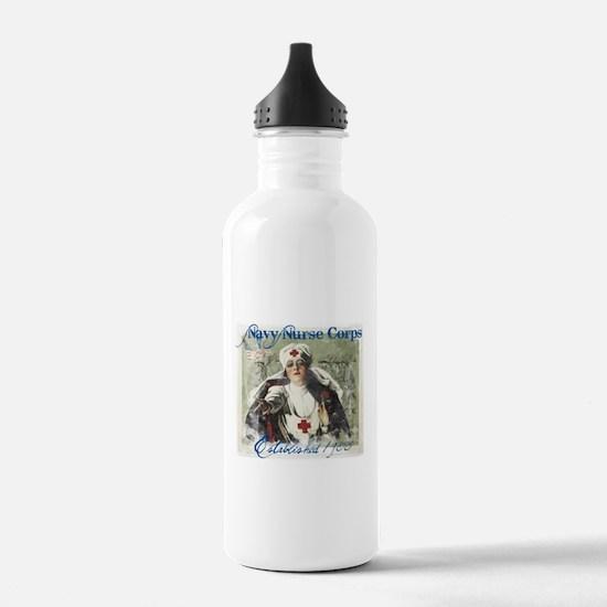 Vintage Navy Nurse Corps 1908 Water Bottle