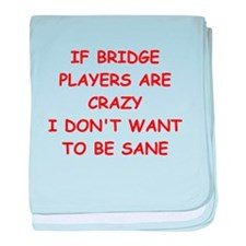 duplicate bridge baby blanket