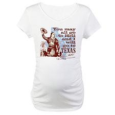 Davys Gone To Texas Shirt