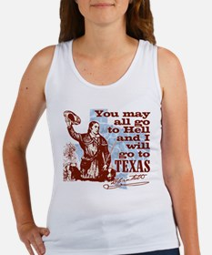 Davys Gone To Texas Tank Top
