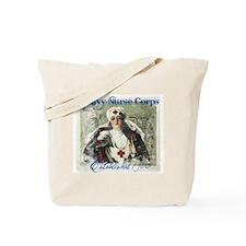 Navy Nurse Corps Blue Tote Bag