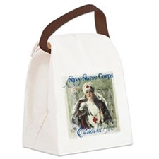 Navy Nurse Corps Blue Canvas Lunch Bag