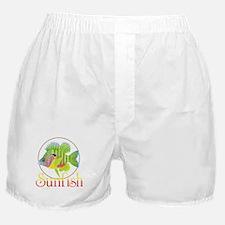 Unique Trout design Boxer Shorts