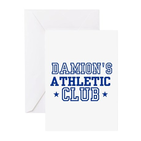Damion Greeting Cards (Pk of 10)