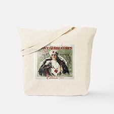 Navy Nurse Corps Vintage Red Tote Bag