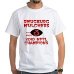 MULCHERS White T-Shirt