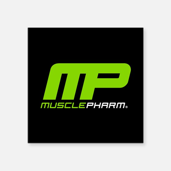 Muscle Pharm Bodybuilding Supplement Sticker