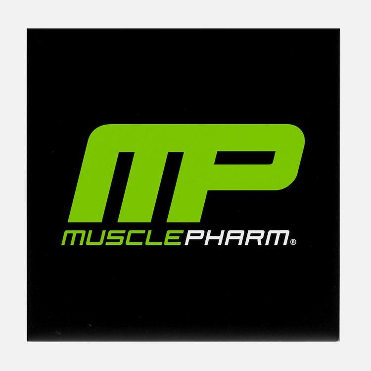 Muscle Pharm Bodybuilding Supplement Tile Coaster