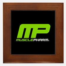 Muscle Pharm Bodybuilding Supplement Framed Tile