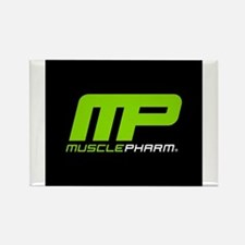Muscle Pharm Bodybuilding Supplement Rectangle Mag