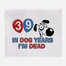 Funny 39 year old gift ideas Throw Blanket