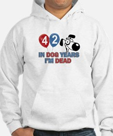 Funny 42 year old gift ideas Hoodie