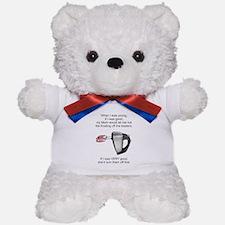 Lick Beaters Teddy Bear
