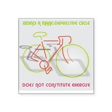 Manic-Depressive Cycle Sticker