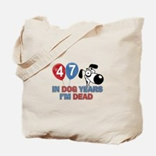 Funny 47 year old gift ideas Tote Bag