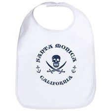 Santa Monica Pirate Bib