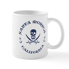 Santa Monica Pirate Mug
