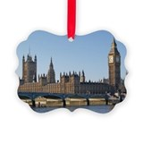 London Picture Frame Ornaments