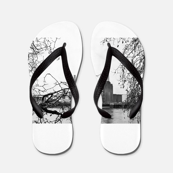 Battersea Power Station Flip Flops