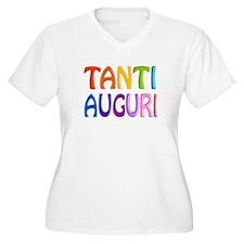 Tanti Auguri (Happy Birthday in Italian ) T-Shirt