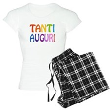 Tanti Auguri (Happy Birthday in Italian ) Pajamas