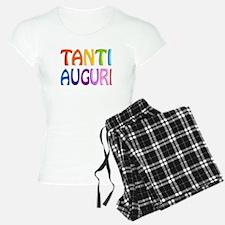 Tanti Auguri (Happy Birthday in Italian ) Pajamas