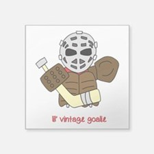 Lil Vintage Hockey Goalie Sticker