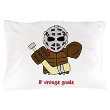 Lil Vintage Hockey Goalie Pillow Case
