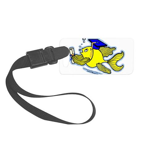 Gratuate fish Luggage Tag