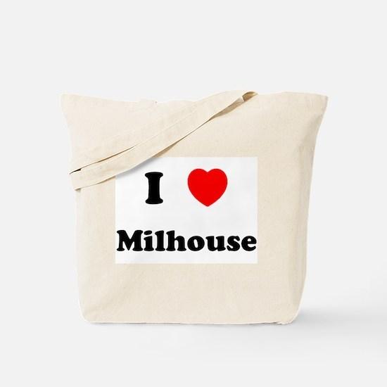 I Love Milhouse Tote Bag