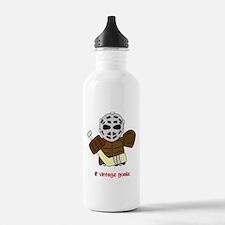 Lil Vintage Hockey Goalie Water Bottle