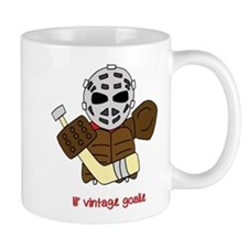 Lil Vintage Hockey Goalie Mug