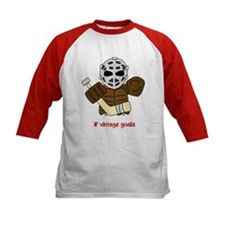 Lil Vintage Hockey Goalie Baseball Jersey