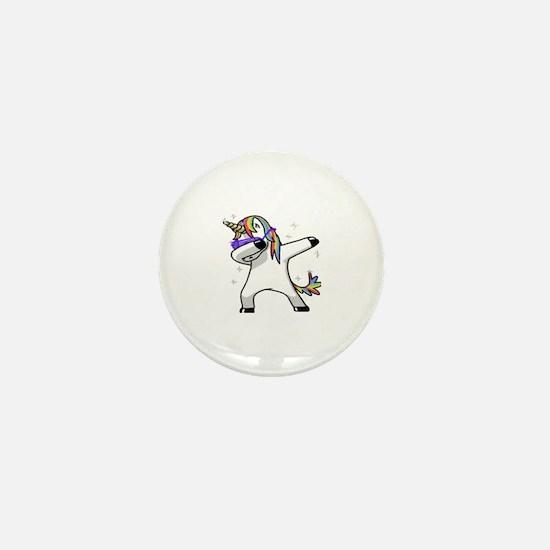 Cute Unicorn Mini Button