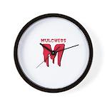 MULCHERS Wall Clock