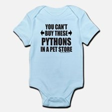 CAN'T BUY THESE PYTHONS IN A PET STORE Onesie