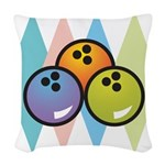 retro-bowling7.png Woven Throw Pillow