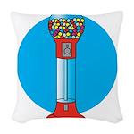 gumball-machine.png Woven Throw Pillow