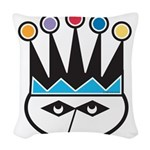 jester.png Woven Throw Pillow
