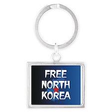 Free North Korea Landscape Keychain