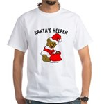 SANTA'S HELPER White T-Shirt