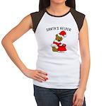 SANTA'S HELPER Women's Cap Sleeve T-Shirt