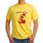 SANTA'S HELPER Yellow T-Shirt