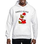 SANTA'S HELPER Hooded Sweatshirt