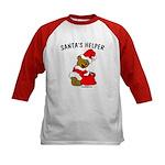 SANTA'S HELPER Kids Baseball Jersey